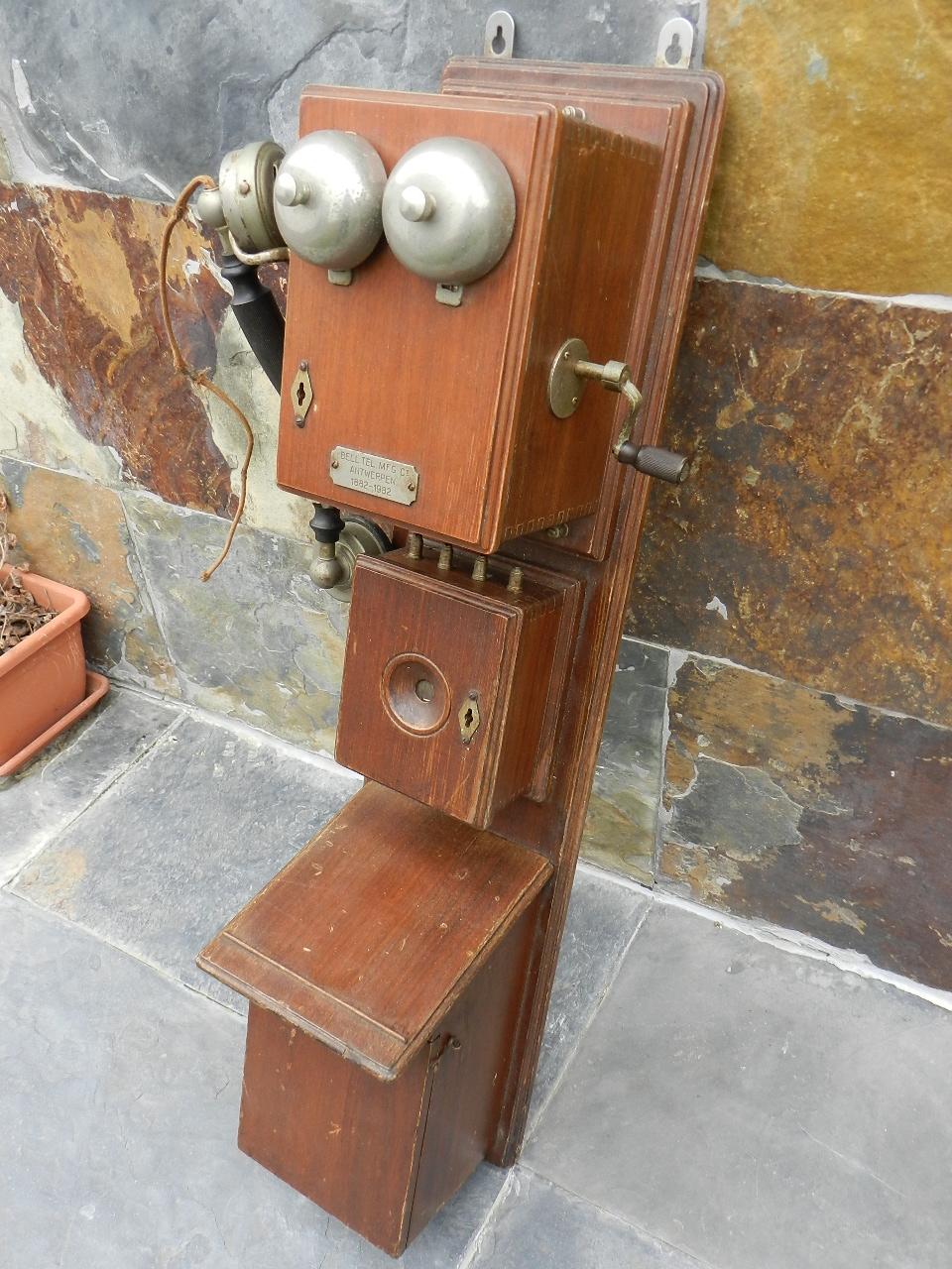 Imagen TELEFONO DE PARED AÑO 1920 34804