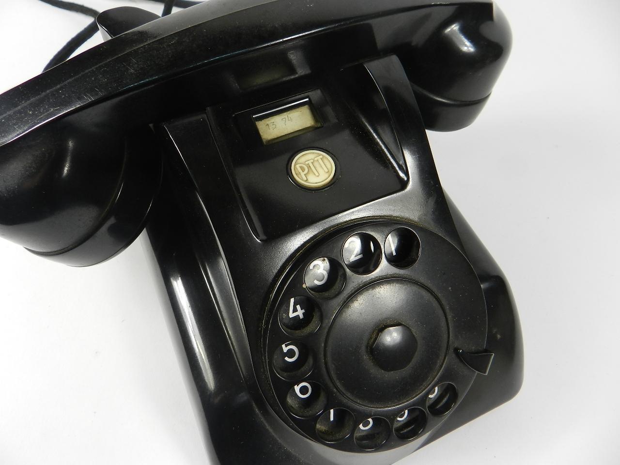 Imagen TELEFONO SOBREMESA NEGRO AÑO 1940 35358