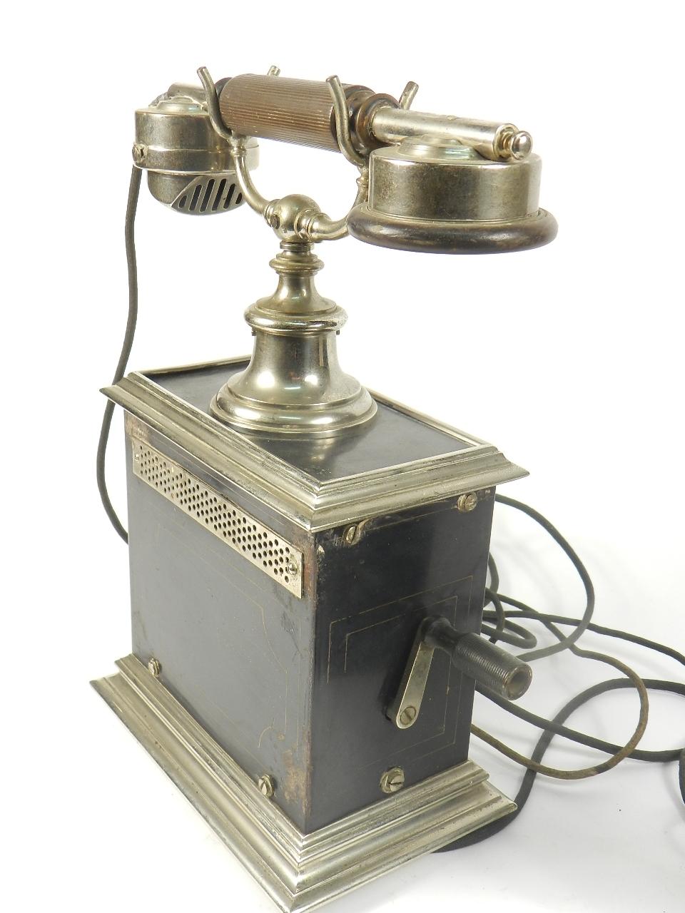 Imagen TELEFONO SOBREMESA AÑO 1930 35382
