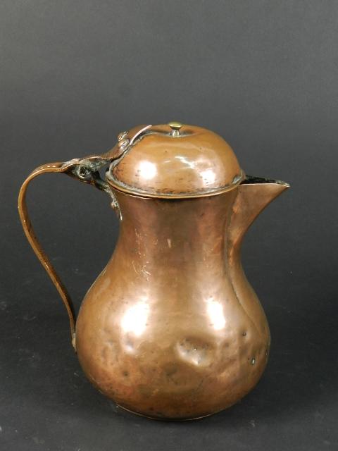 JARRITA DE COBRE SIGLO XVIII-XIX