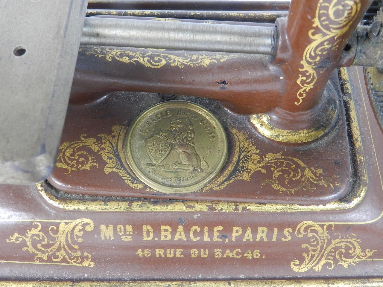 Imagen EXPRESS BACLE COLOR MARRÓN AÑO 1885 35615